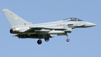30-83 - Eurofighter Typhoon EF2000 - Germany - Air Force
