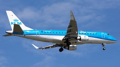 A picture of PHEXH - Embraer E175STD - KLM - © Andrea Spoladore