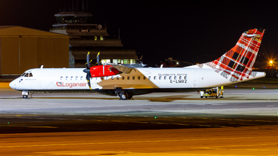 A picture of GLMRZ - ATR 72500 - Loganair - © Ethan Hew - p_nilly