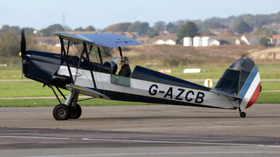 G-AZCB - Stampe and Vertongen SV-4C - Private