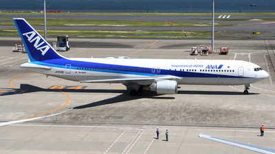A picture of JA605A - Boeing 767381(ER) - All Nippon Airways - © HIroki Manabe