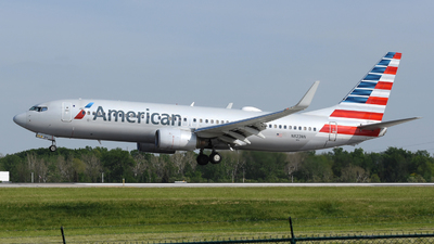 A picture of N823NN - Boeing 737823 - American Airlines - © DJ Reed - OPShots Photo Team