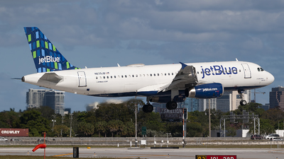 A picture of N639JB - Airbus A320232 - JetBlue Airways - © Mark Lawrence