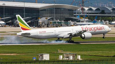ET-ASK - Boeing 777-360ER - Ethiopian Airlines