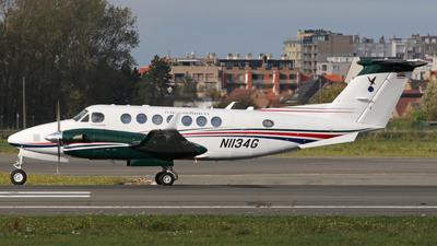 A picture of N1134G - Beech B300 Super King Air 350 - [FL1134] - © Luc Van Belleghem