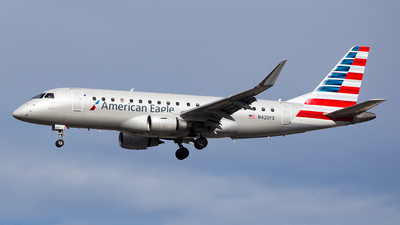 N420YX - Embraer 170-200LR - American Eagle (Republic Airways)