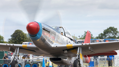 G-SIJJ - North American P-51D Mustang - Private