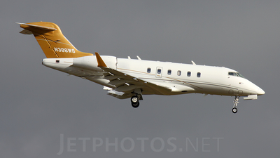 A picture of N388WS - Bombardier Challenger 300 - [20108] - © Marcello Galzignato