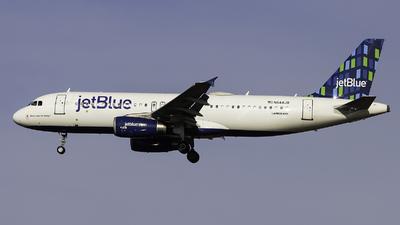N644JB - Airbus A320-232 - jetBlue Airways