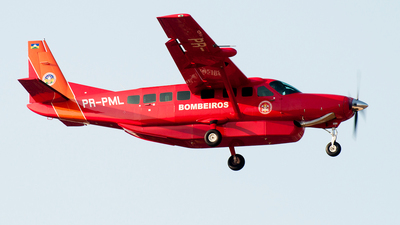 PR-PML - Cessna 208B Grand Caravan EX - Brazil - Military Firefighters