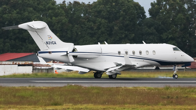 N31CA - Bombardier BD-100-1A10 Challenger 300 - Private