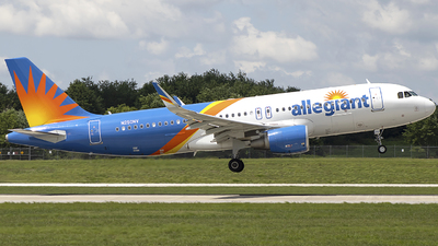 N250NV - Airbus A320-214 - Allegiant Air