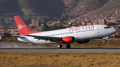 OB2037P - Boeing 737-3Q8 - Peruvian Airlines