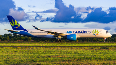 A picture of FHNET - Airbus A350941 - Air Caraibes - © Maxime CERTAIN-MESSAGER