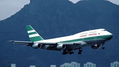 VR-HII - Boeing 747-367 - Cathay Pacific Airways