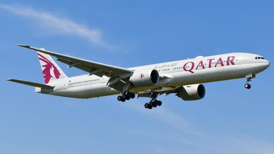 A picture of A7BEN - Boeing 7773DZ(ER) - Qatar Airways - © A Turner - aidans_aviation