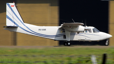 PK-WMR - Britten-Norman BN-2T Turbine Islander - Wise Air