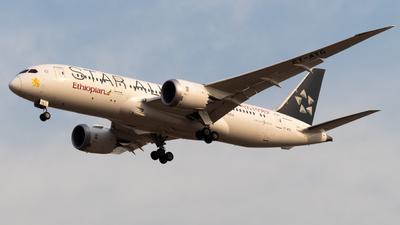 A picture of ETATG - Boeing 7878 Dreamliner - Ethiopian Airlines - © JetblastAviation