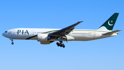 A picture of APBGY - Boeing 777240(LR) - Pakistan International Airlines - © WorldTraveler225