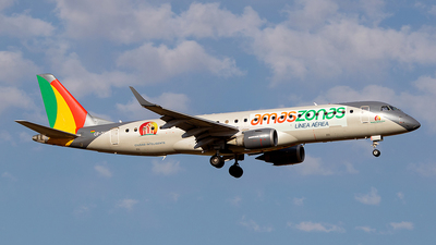 A picture of CP3145 - Embraer E190LR - Amaszonas - © Carlos P. Valle C.