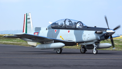 2025 - Raytheon T-6C Texan II - Mexico - Air Force
