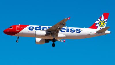 A picture of HBJJM - Airbus A320214 - Edelweiss Air - © Pablo Gonzalez de Leon