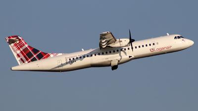 A picture of GFBXA - ATR 72600 - Loganair - © BrierleyAviation