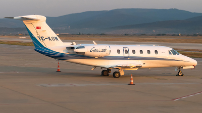 TC-KON - Cessna 650 Citation VII - Skyline Aviation
