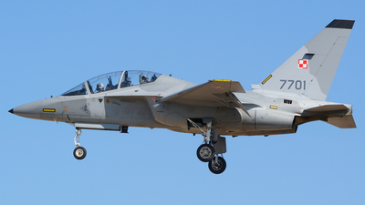 7701 - Alenia Aermacchi M-346 Master - Poland - Air Force