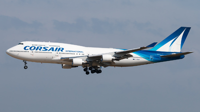 F-HSUN - Boeing 747-422 - Corsair International