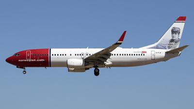 EI-FJI - Boeing 737-8JP - Norwegian