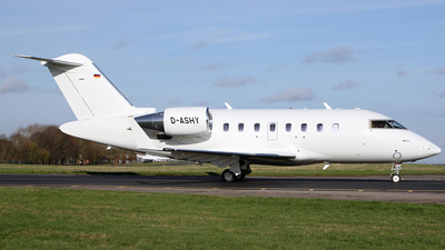 D-ASHY - Bombardier CL-600-2B16 Challenger 650 - Private