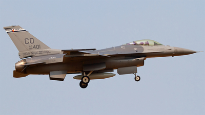 88-0401 - General Dynamics F-16C Fighting Falcon - United States - US Air Force (USAF)
