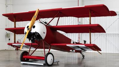 PR-ZUC - Fokker DR.1 - Private