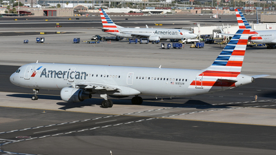 A picture of N185UW - Airbus A321211 - American Airlines - © DJ Reed - OPShots Photo Team