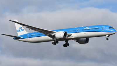 A picture of PHBKG - Boeing 78710 Dreamliner - KLM - © nickvdhoek