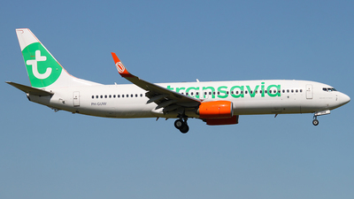 PH-GUW - Boeing 737-8EH - Transavia Airlines