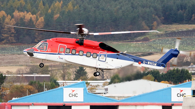 A picture of GWNSM - Sikorsky S92A Helibus - CHC Helikopter Service - © Rrimestad