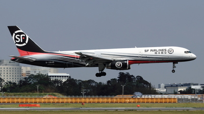 A picture of B2840 - Boeing 7572Z0(PCF) - SF Airlines - © NRT Spotter