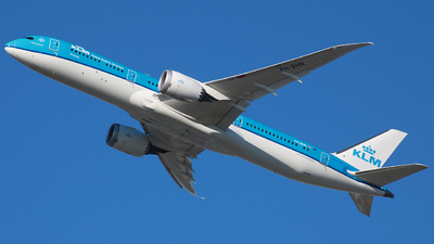 A picture of PHBHN - Boeing 7879 Dreamliner - KLM - © ajwebb