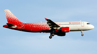 A picture of VPBZQ - Airbus A320214 - Rossiya - © Fedor Kabanov