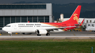 A picture of B5380 - Boeing 73787L - Shenzhen Airlines - © LingFeng