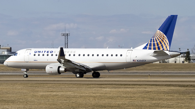 N206SY - Embraer 170-200LR - United Express (SkyWest Airlines)
