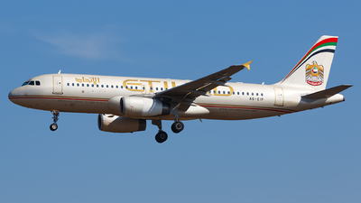 A picture of A6EIP - Airbus A320232 - Etihad Airways - © Sots Aliaksandr