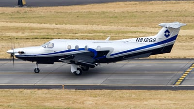 N812GS - Pilatus PC-12/47E - Private