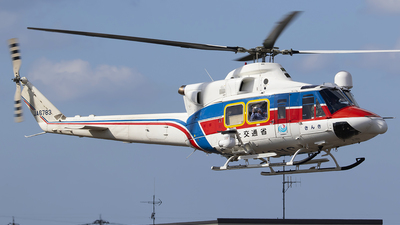JA6783 - Bell 412EP - Japan - Regional Development Bureau