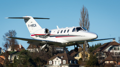 F-HRCA - Cessna 525 Citationjet CJ1 - Private