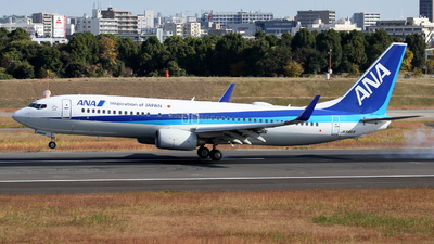 A picture of JA64AN - Boeing 737881 - All Nippon Airways - © Tokubee