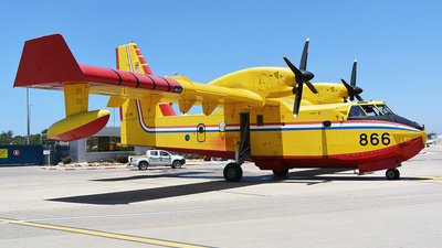 866 - Canadair CL-415 - Croatia - Air Force