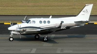 ZS-BGC - Beechcraft C90GTi King Air - Private